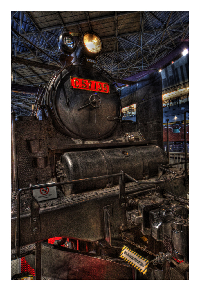 In the Railway museum-5