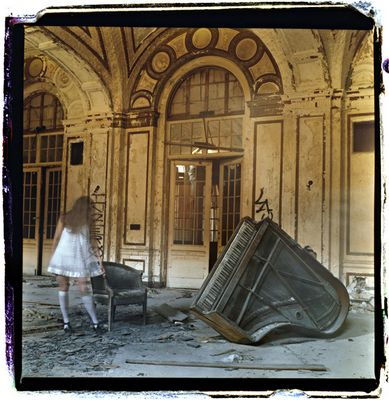 in the ruins you've left behind...