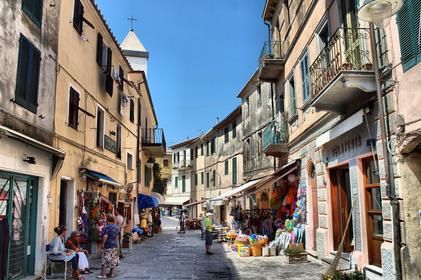 In the streets of Capoliveri - No. 1
