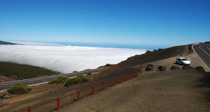in the way of Teide