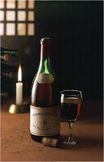 In the wine-cellar