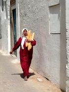 in Tunisia il pane non si incarta mai