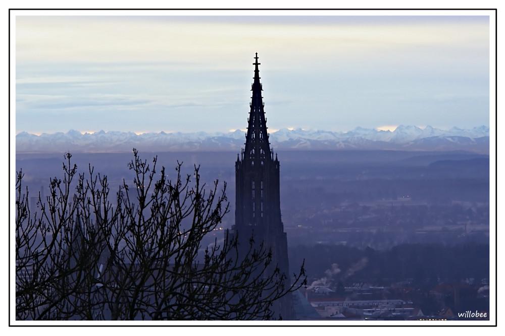 In Ulm , um Ulm und um Ulm herum....