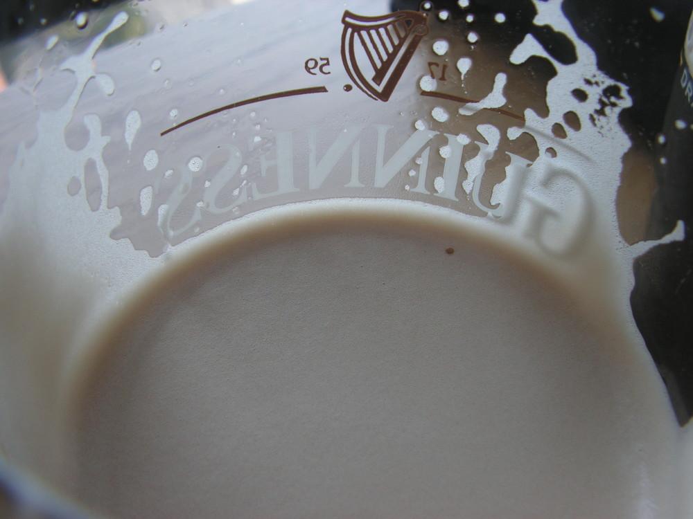 In un bicchiere di Guinness