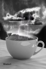 in un mare di caffè