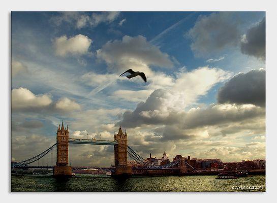 In volo da Londra