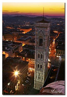 In volo sopra Firenze...