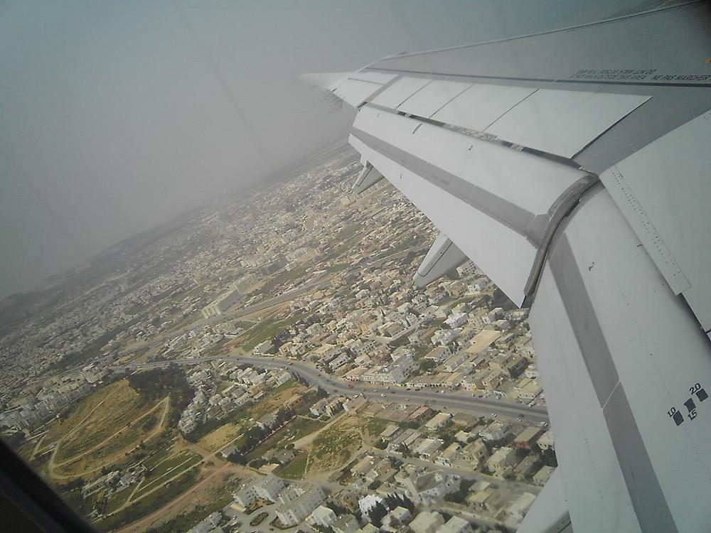 ...in volo sull'Africa...