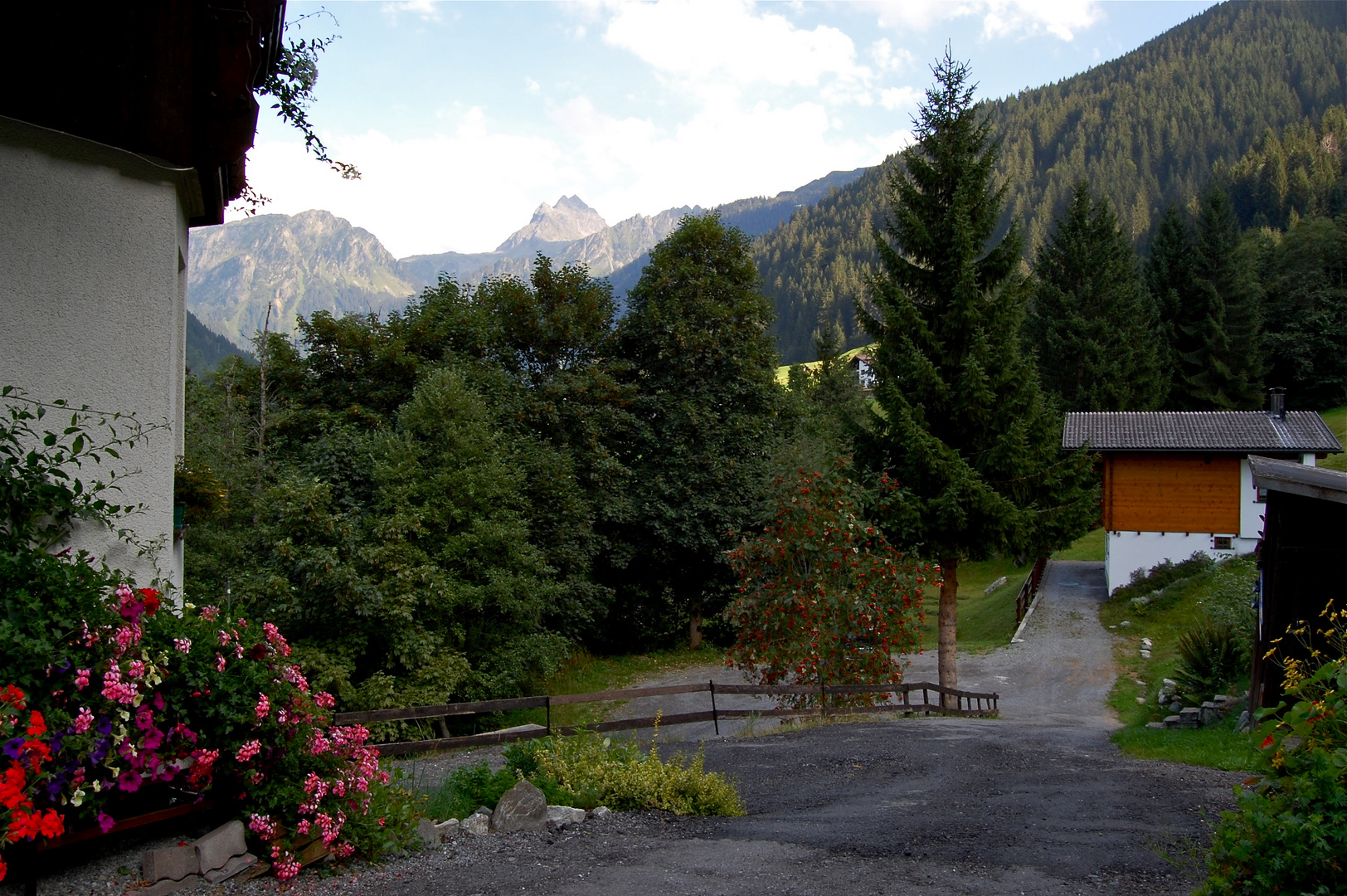 In Vorfreude auf den bevorstehenden Urlaub in Gaschurn (Montafon)…