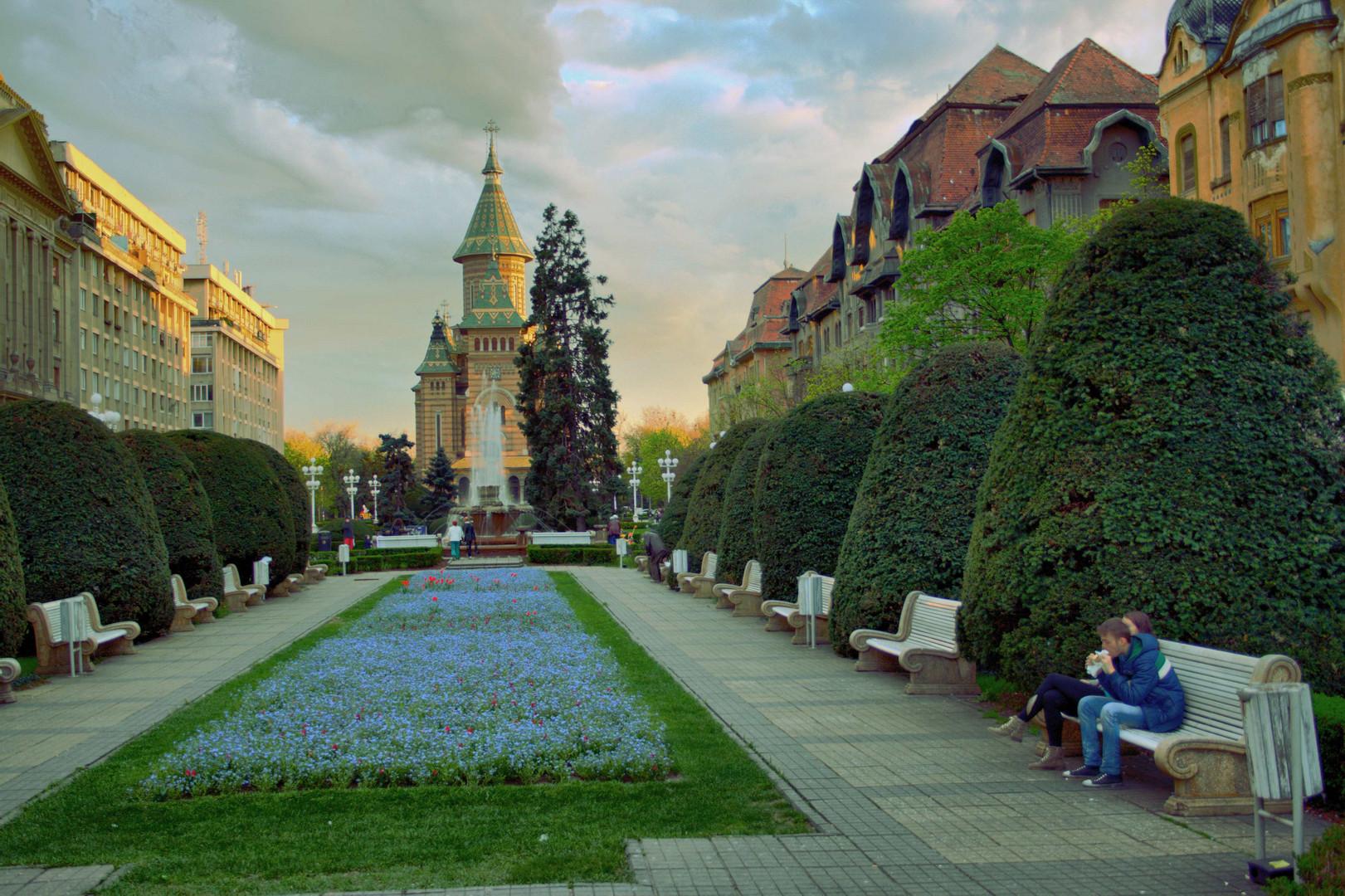 In Zentrum von Timisoara