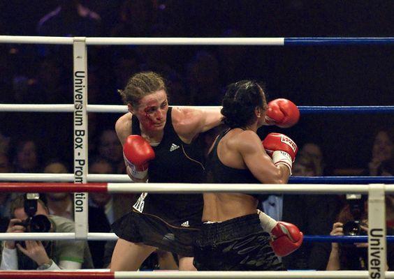 Ina Menzer vs. Sandy Tsagouris (1)