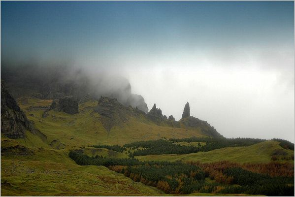incomming fog