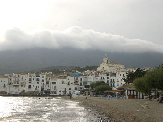 """Independence Day"" in Cadaques an der Costa Brava"