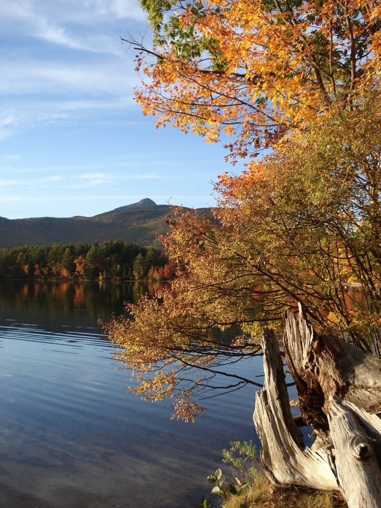 Indian Summer in den White Mountains (New Hampshire, USA)