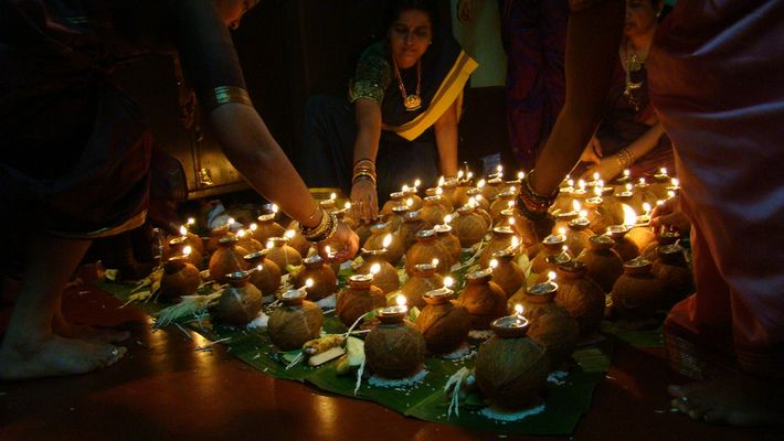 Indian Tradition - Gowri Pooja
