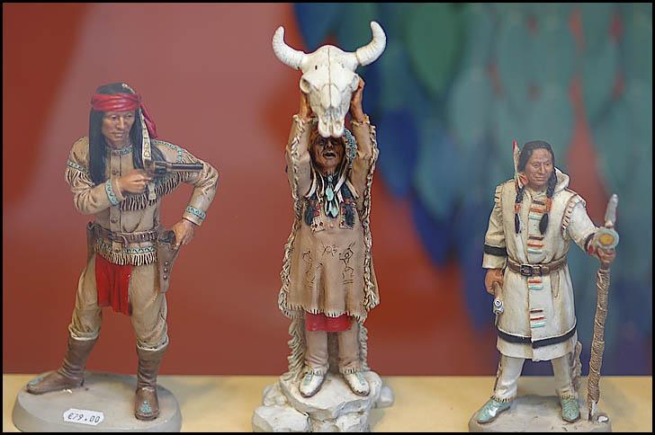 Indianer in ....