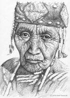 Indianerin - Klamath Woman
