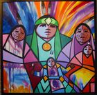 Indianische Malerei