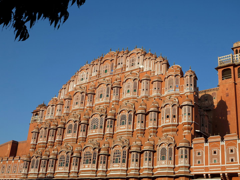 INDIEN - Der Palast der Winde in Jaipur