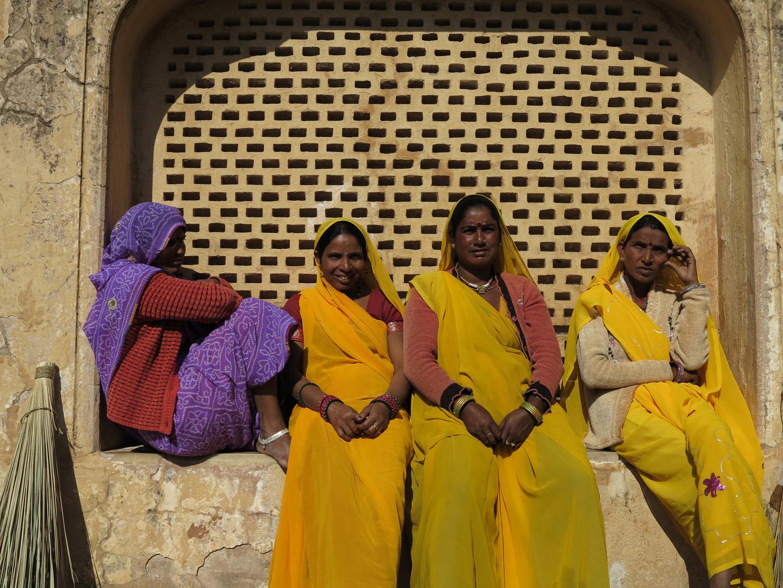 INDIEN - Eine beliebte Farbe