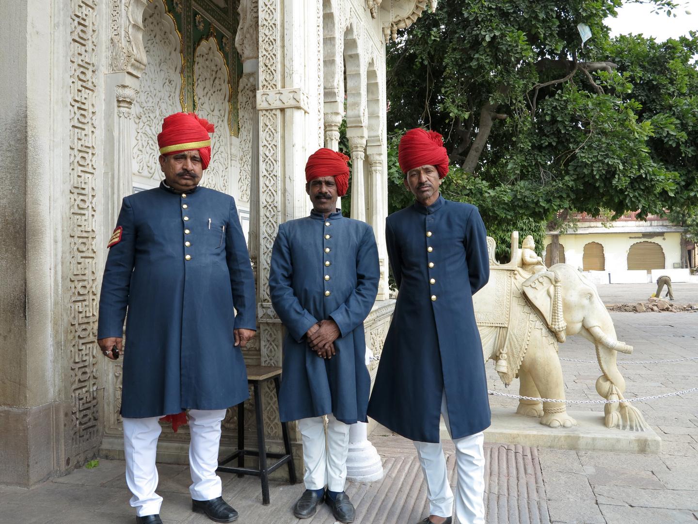 INDIEN - Im Stadtpalast von Jaipur