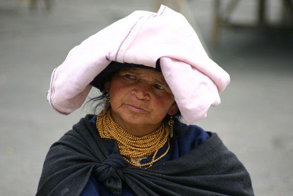 Indigena-Frau