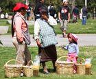 Indigene am Rande einer Parade