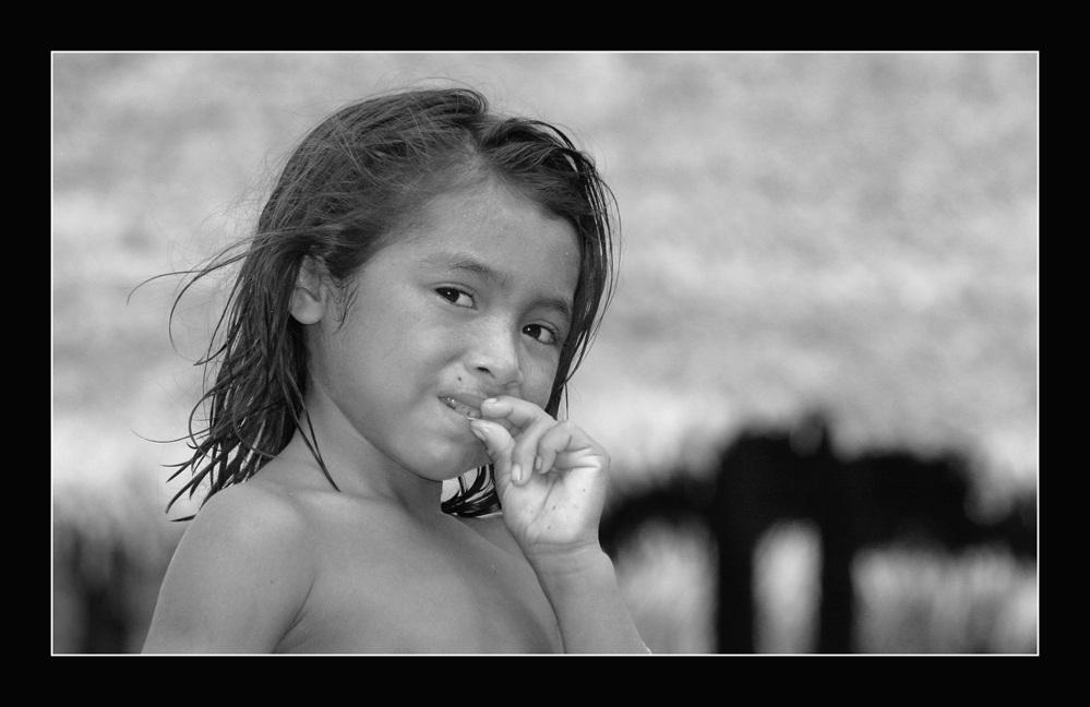 Indio-Mädchen in Suriname