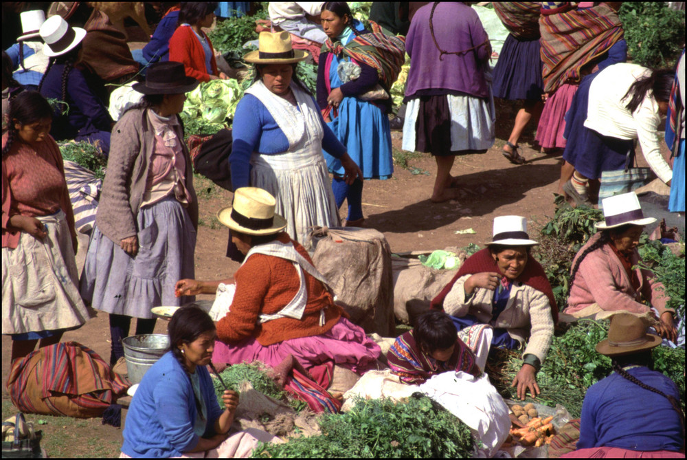 Indiomarkt in Chinchero (1)