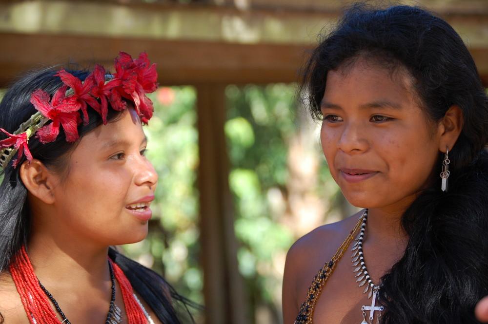 Indios Embera Panama
