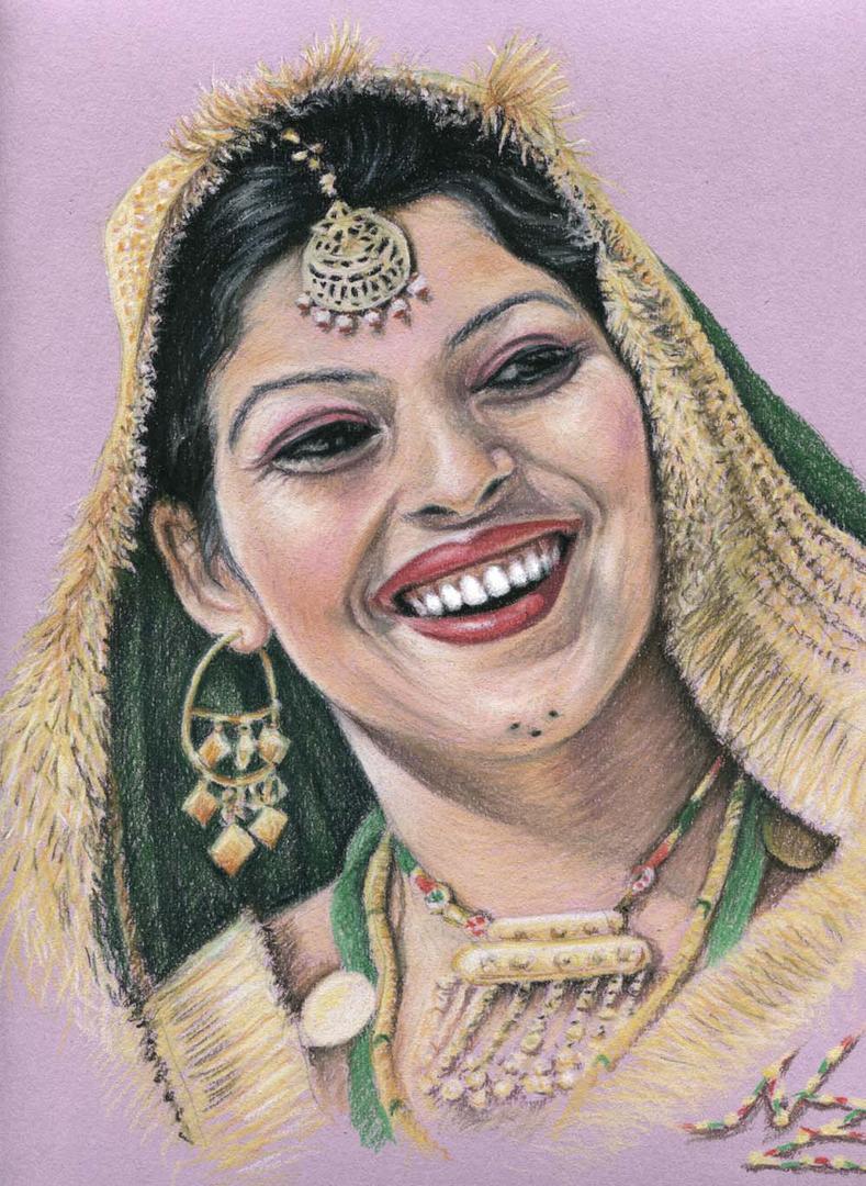 Indische Braut, Punjab