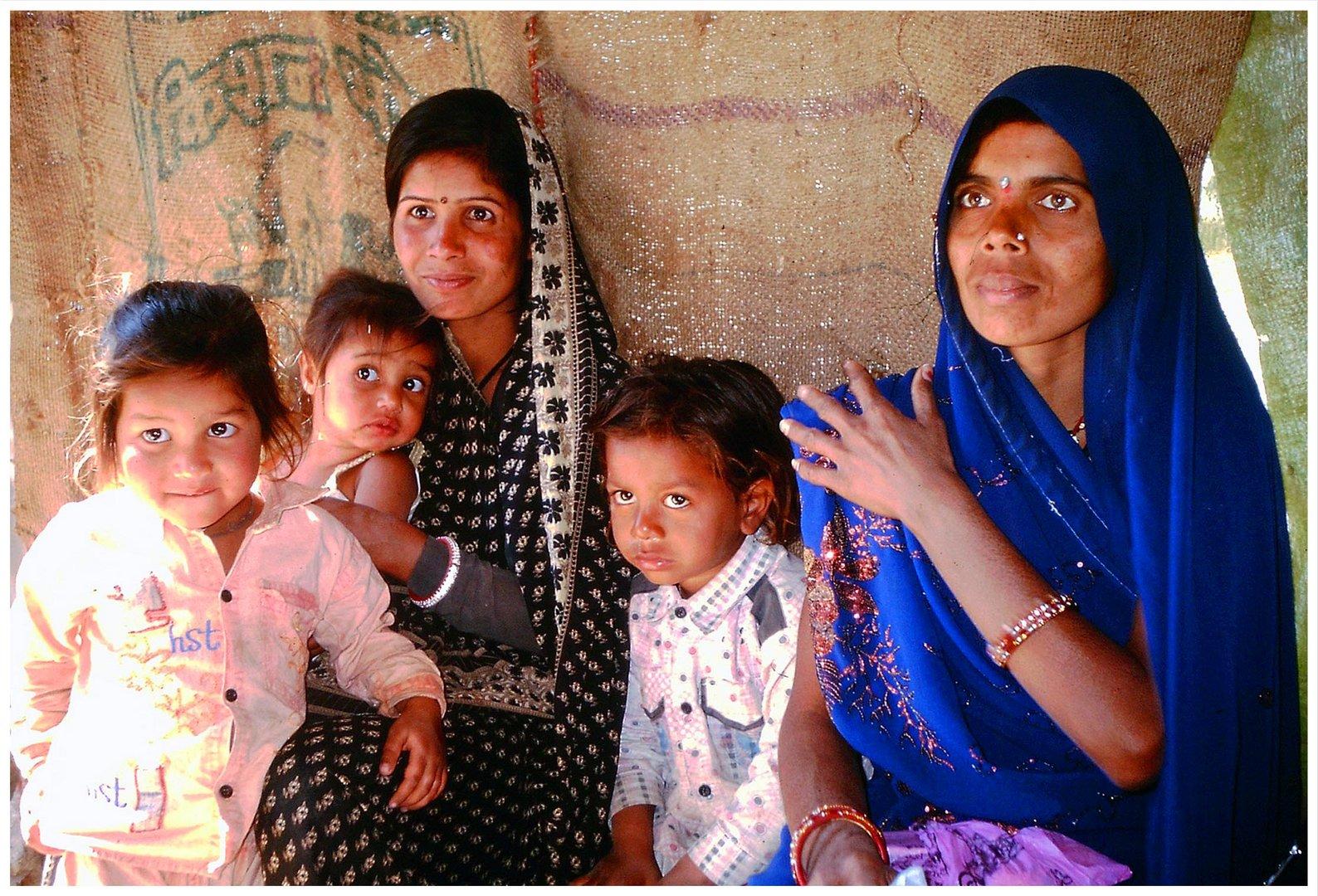 """""""Indische Familie"""""""