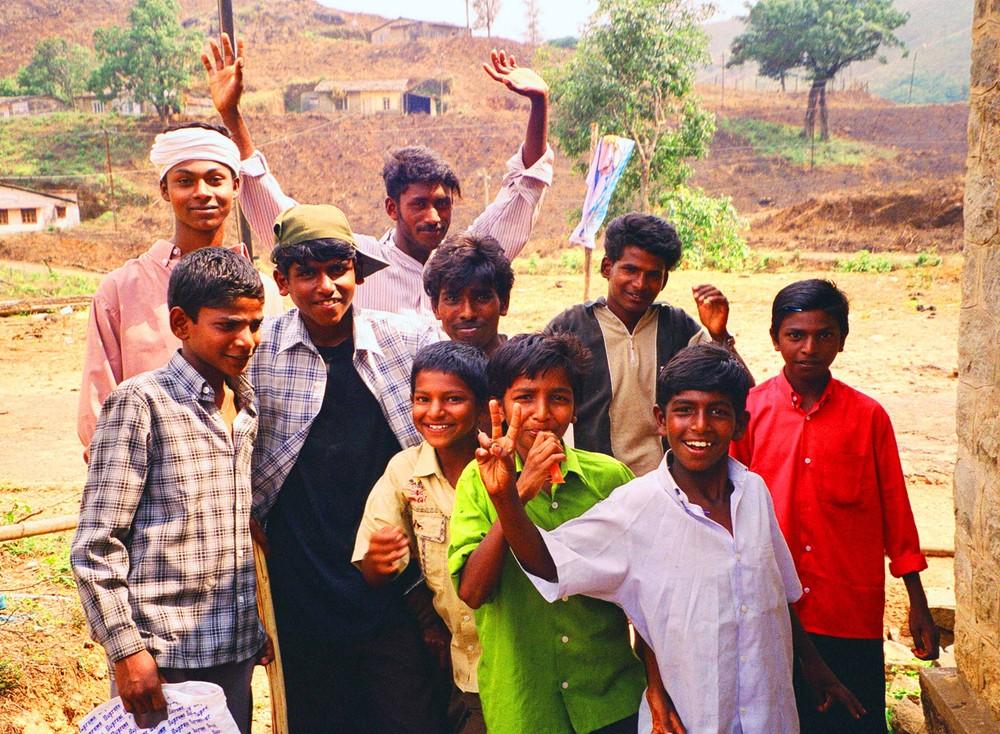 Indische Kinder (Süd-Indien)