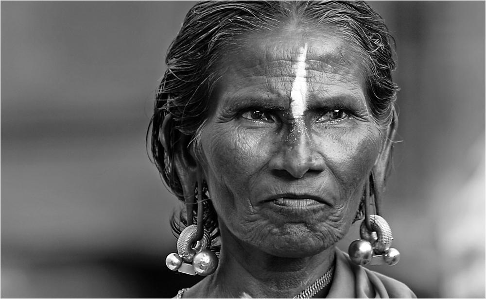 Indische Pilgerin