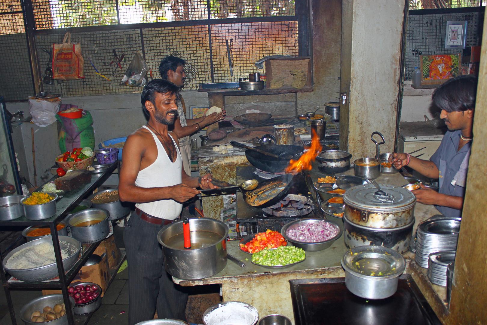 indische Restaurantküche