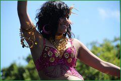 indische Tänzerin ... in Kapstadt