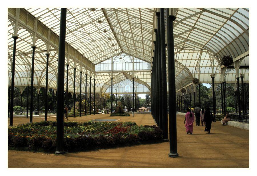 Indischer Garten Pavillion