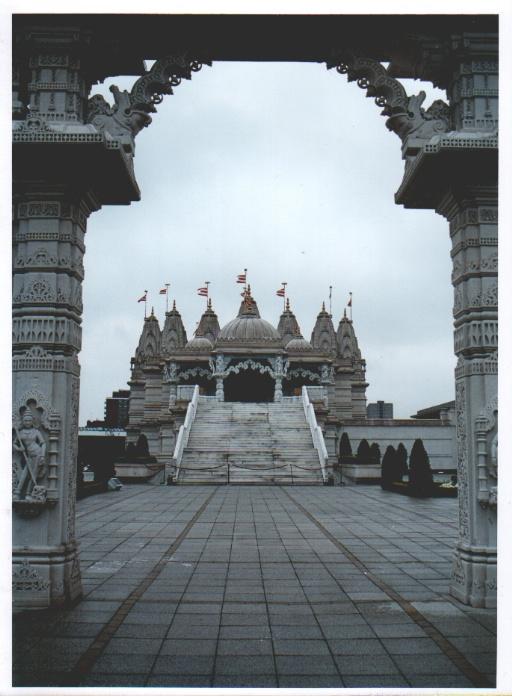 Indischer Tempel bei London