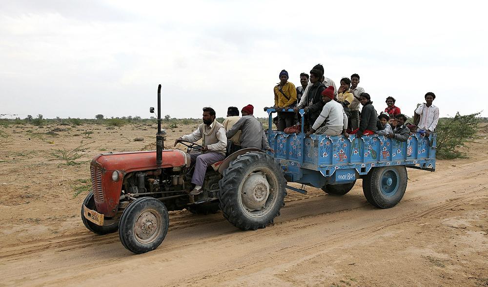 Indischer Transportunternehmer