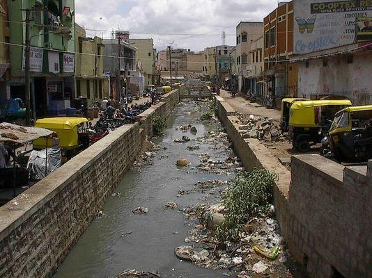 Indischer Wasserkanal