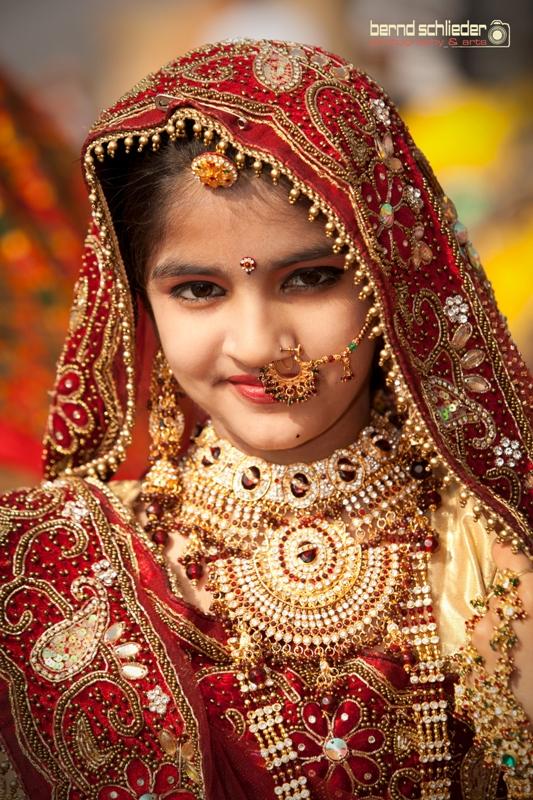 Indische Mädchen