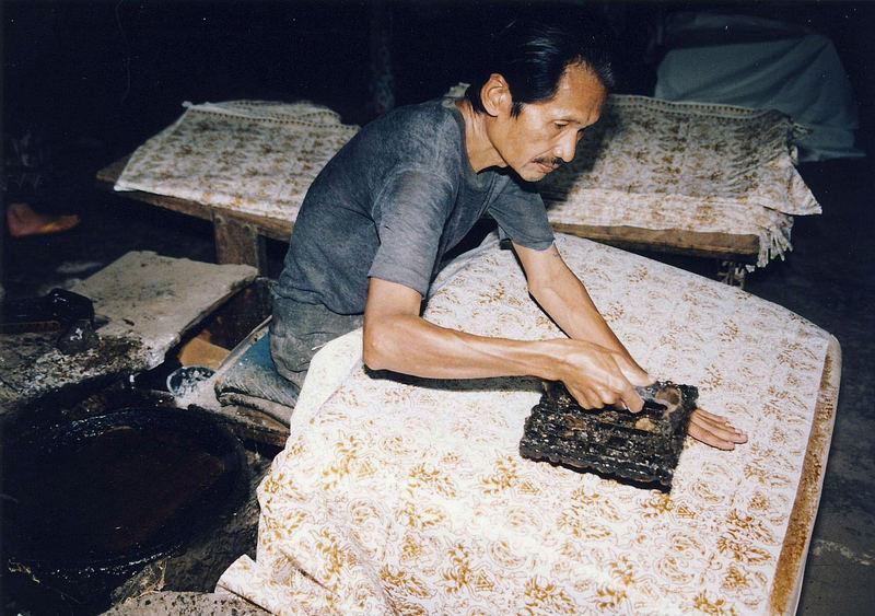 """Indonesia, Java """"Batik factory"""""""