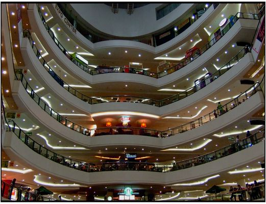 Indonesian Shopping Mall