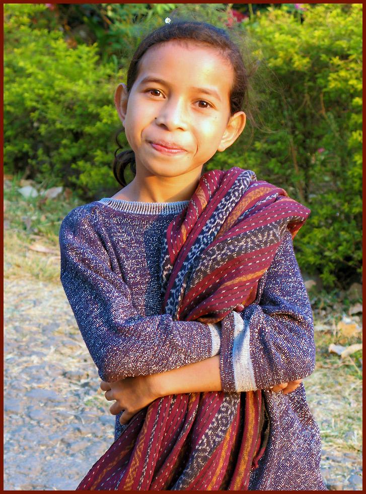 indonesisches Mädchen