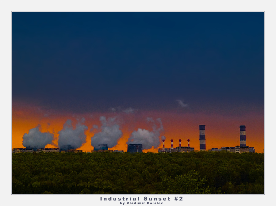 Industrial Sunset #2