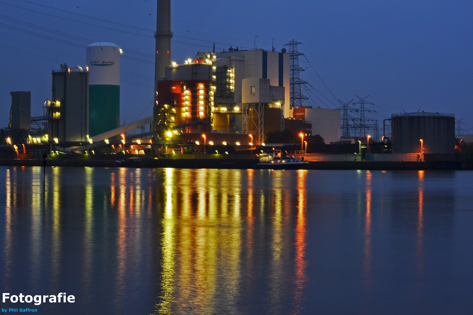 Industrie an der Weser