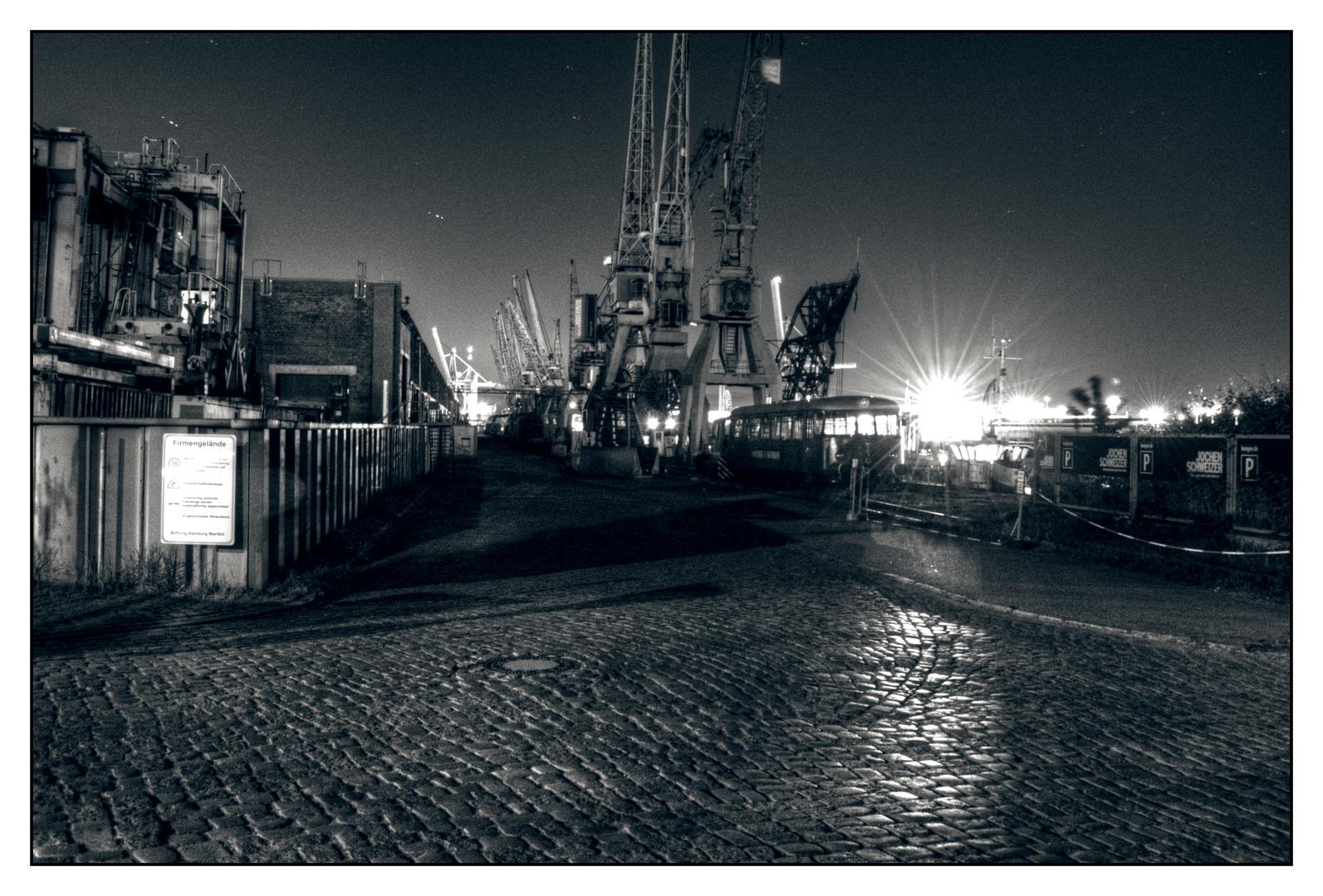 Industrie im Hafen
