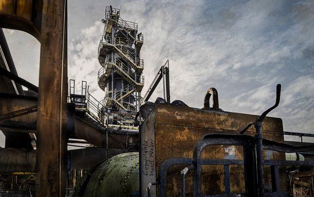 Industrie in Hattingen, Henrichshütte...
