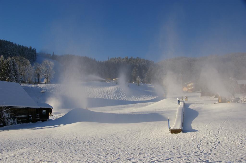 Industrie-Schnee...
