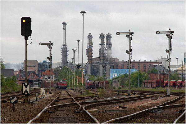 Industrie und Eisenbahn...